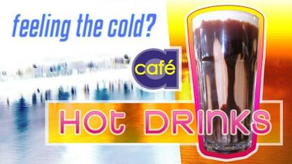 Cafe A - Digital signage - Hot drinks 3