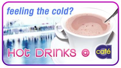 Cafe A - Digital signage - Hot drinks 4