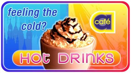 Cafe A - Digital signage - Hot drinks 2
