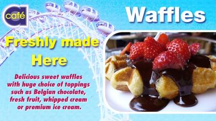 Cafe A - Digital signage - Food 3