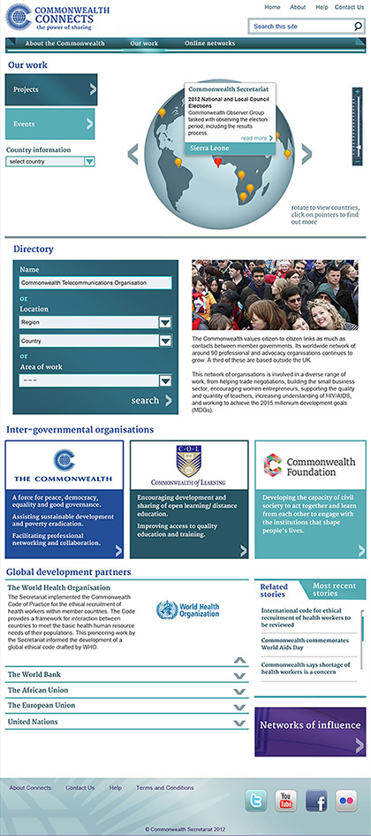 Commonwealth Connects - Our work