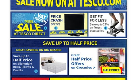 Tesco emails