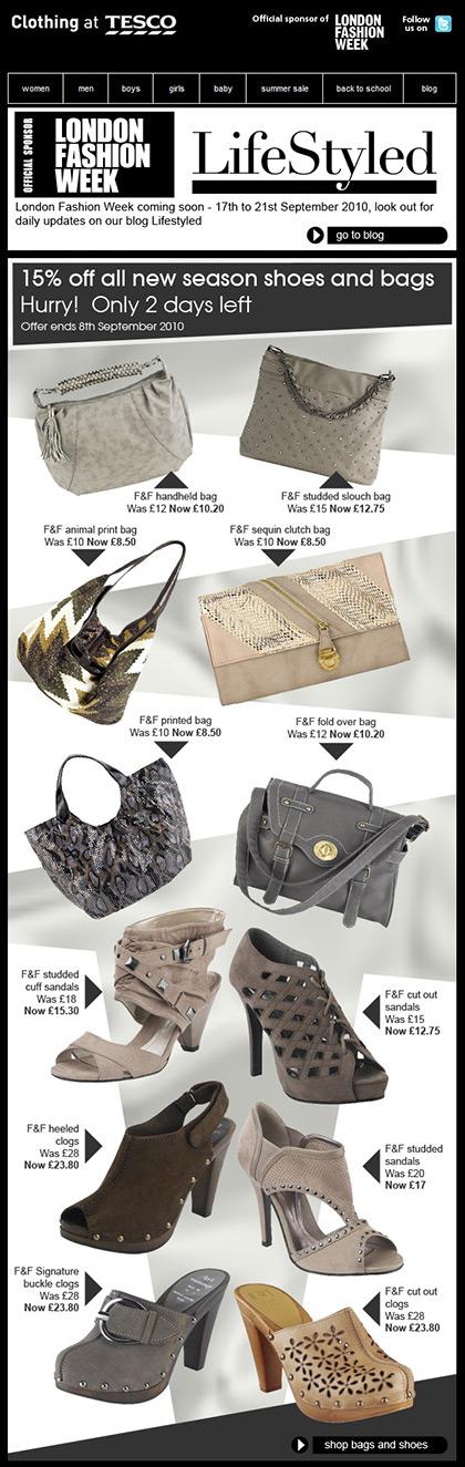 Clothing at Tesco – Email – Week 28 Fashion