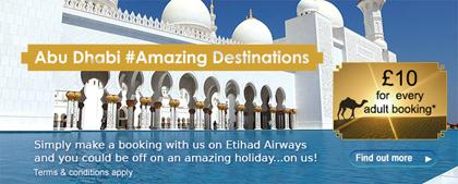 Major 4 Agents - Etihad Airways promo